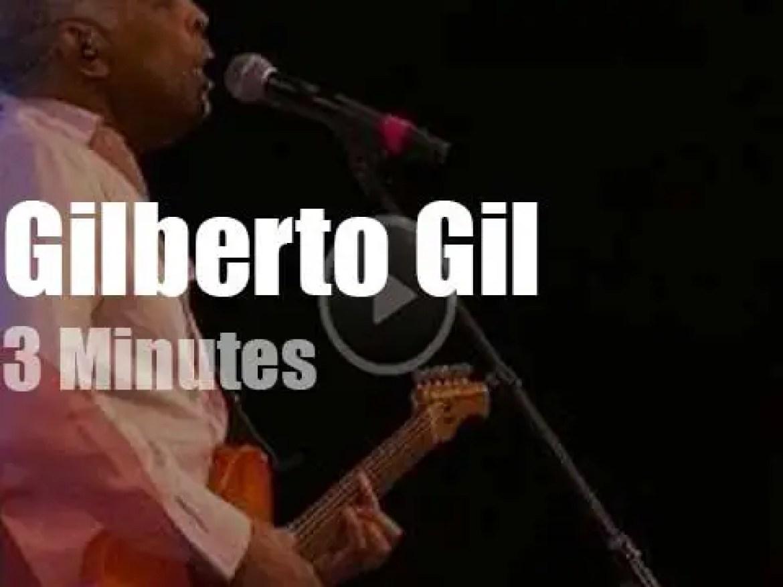 Gilberto Gil attends a Swiss Festival (2019)
