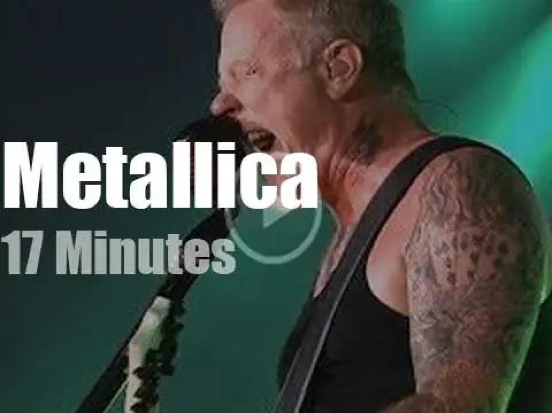 Metallica serenade Montréal (2017)