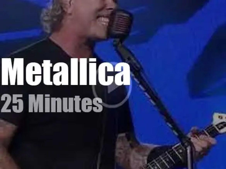 Metallica serenade Moscow (2019)