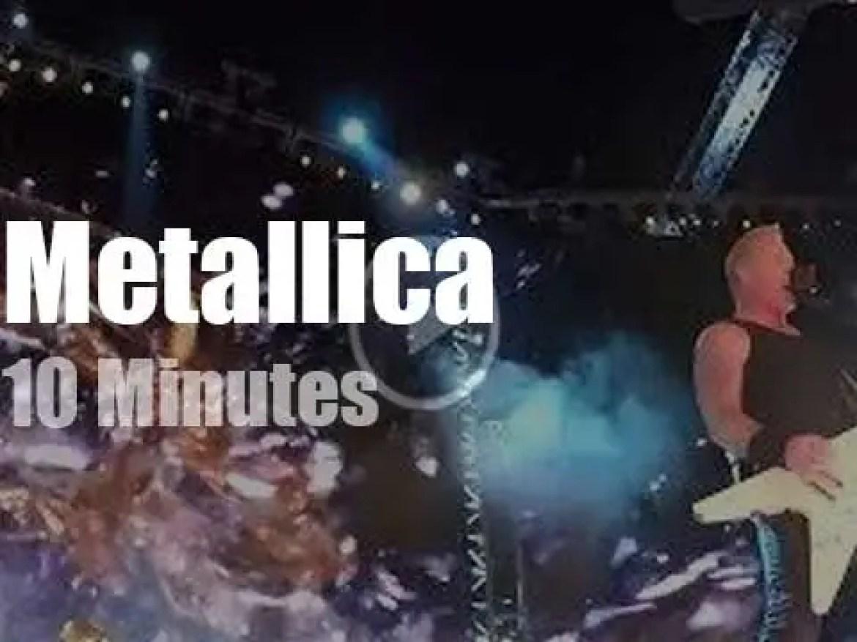 Metallica serenade Pasadena (2017)