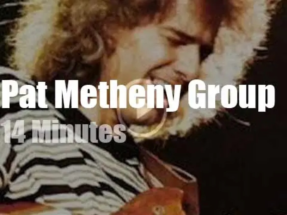 Pat Metheny takes his Group to Montreal (1982)