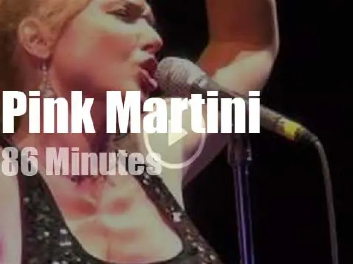 Pink Martini storm the Citadelle in Carcassonne (2014)