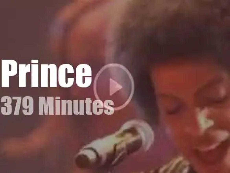 Prince rock Montreux … three times (2013)