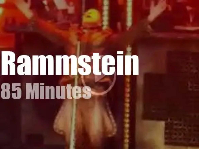 Rammstein pantomine in Berlin (2016)