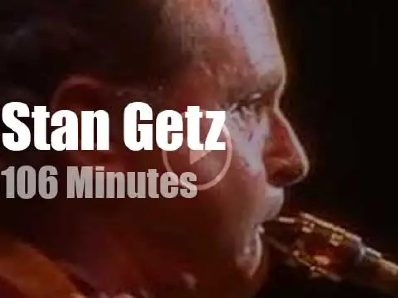 Stan Getz takes his Group to Munich (1990)