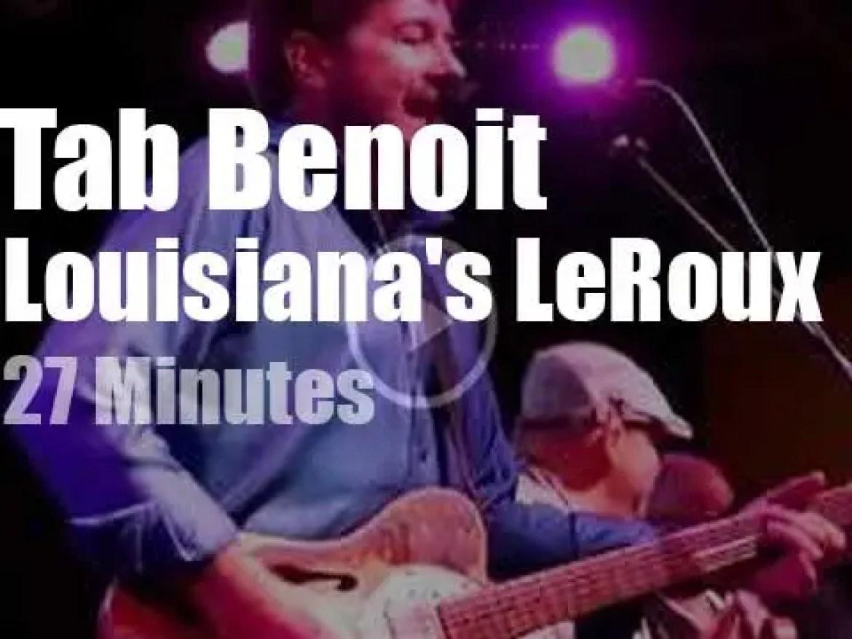 Tab Benoit meets Louisiana's LeRoux in NOLA (2017)