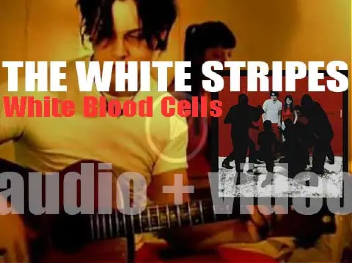 The White Stripes release 'White Blood Cells' their third album, produced and fully written by Jack White (2001)