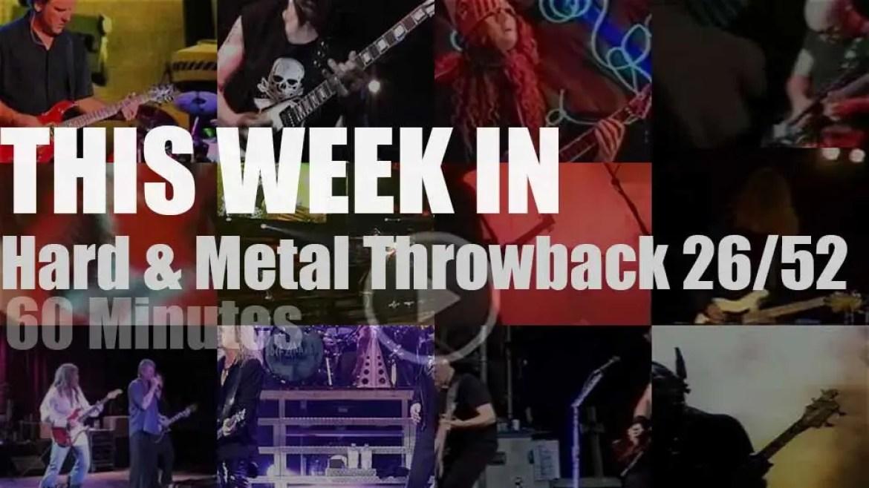 This week In  'Hard & Metal Throwback'  26/52