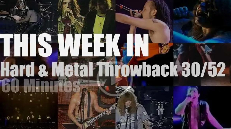 This week In  'Hard & Metal Throwback'  30/52