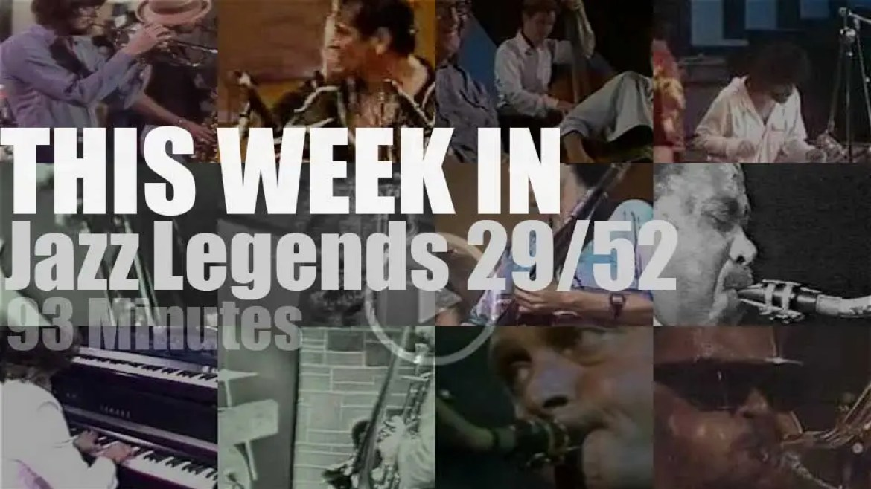 This week In Jazz Legends 29/52