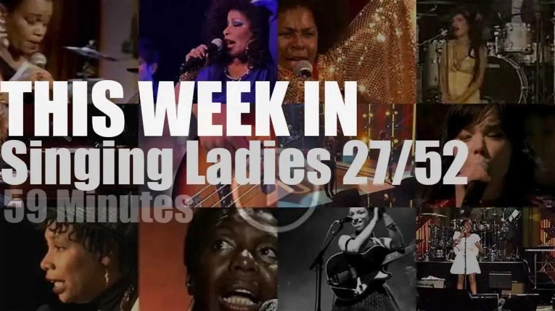 This week In Singing Ladies 27/52
