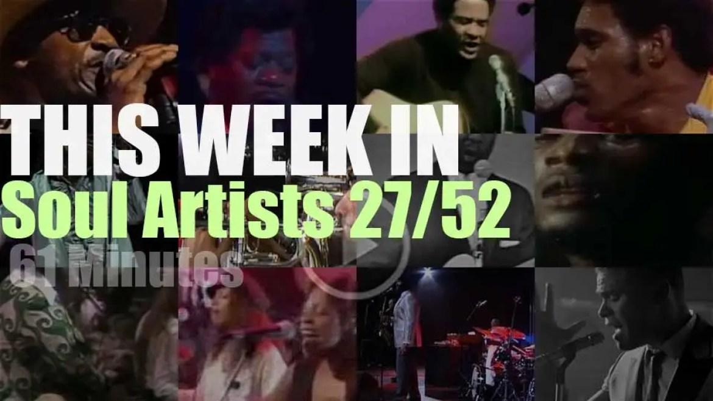 This week In Soul Artists 27/52
