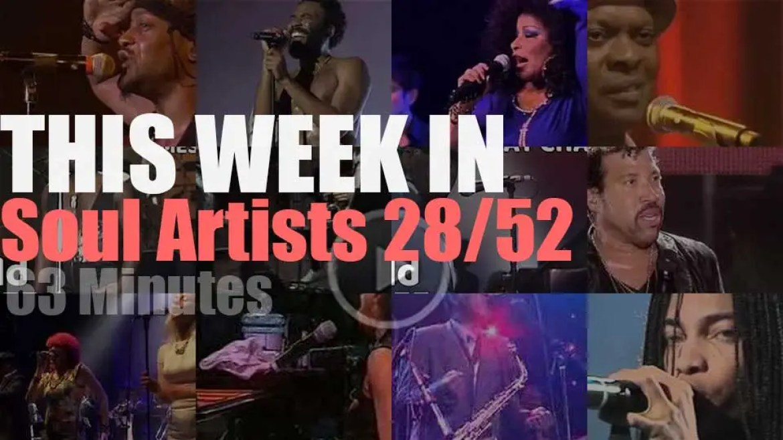 This week In Soul Artists 28/52