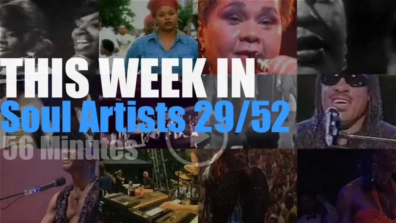 This week In Soul Artists 29/52