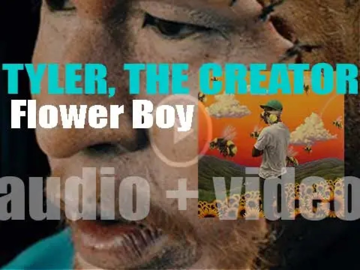 Columbia publish Tyler, The Creator's fourth album : 'Flower Boy' featuring Frank Ocean, ASAP Rocky, Lil Wayne, Kali Uchis, Steve Lacy, Estelle, Jaden Smith among other guests (2017)
