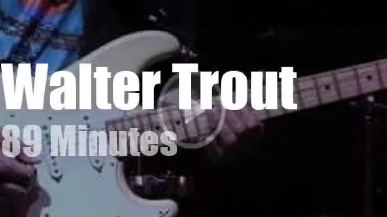 Walter Trout bluesifies Delaware (2015)