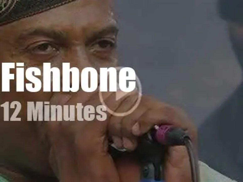 Fishbone do 'Reggae on the Rocks' (2017)