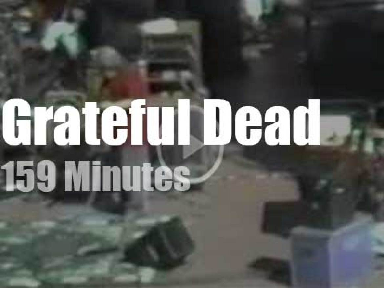 Grateful Dead rock Red Rocks (1985)