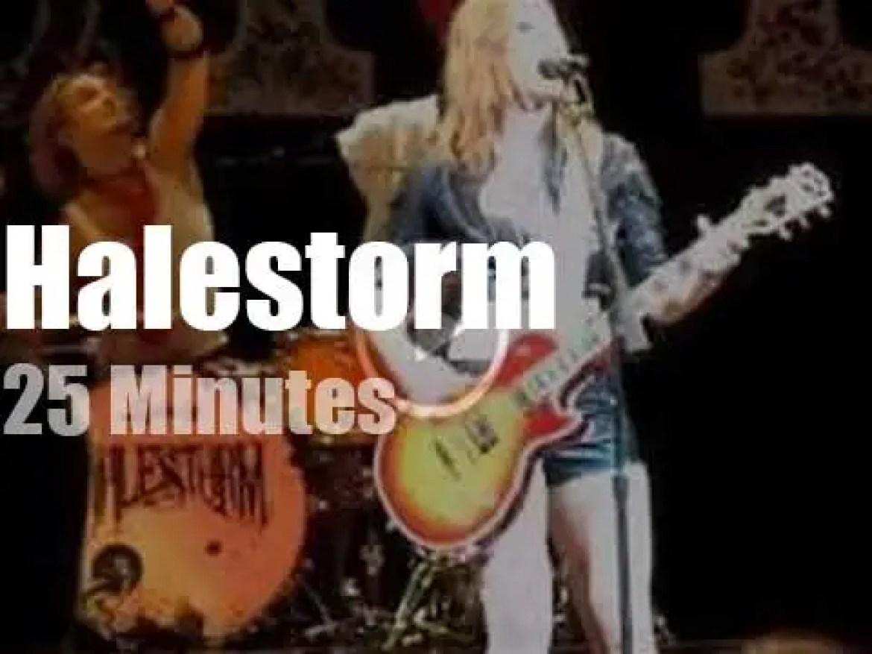 Halestorm rock Atlantic City (2013)