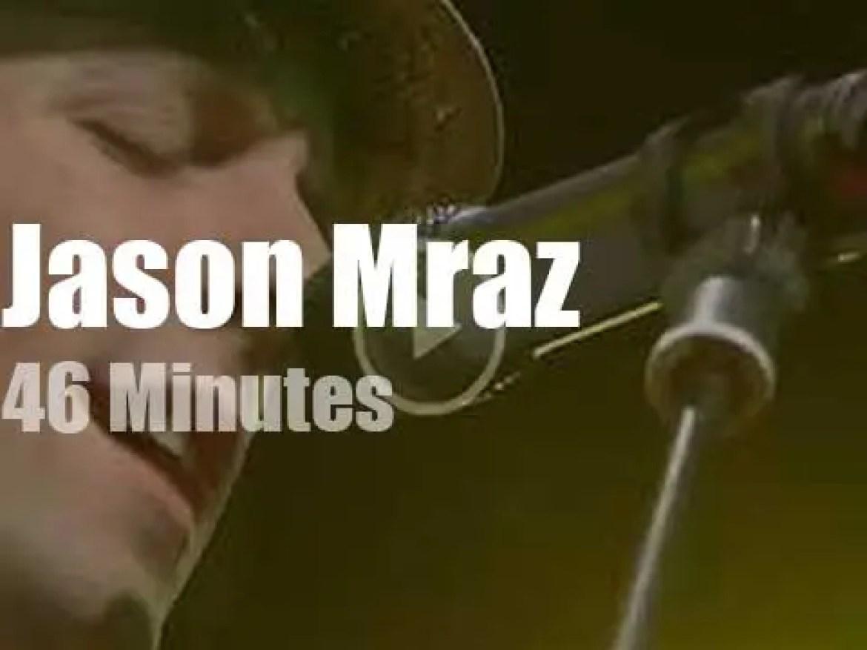 Jason Mraz performs for South Korean EBS (2006)