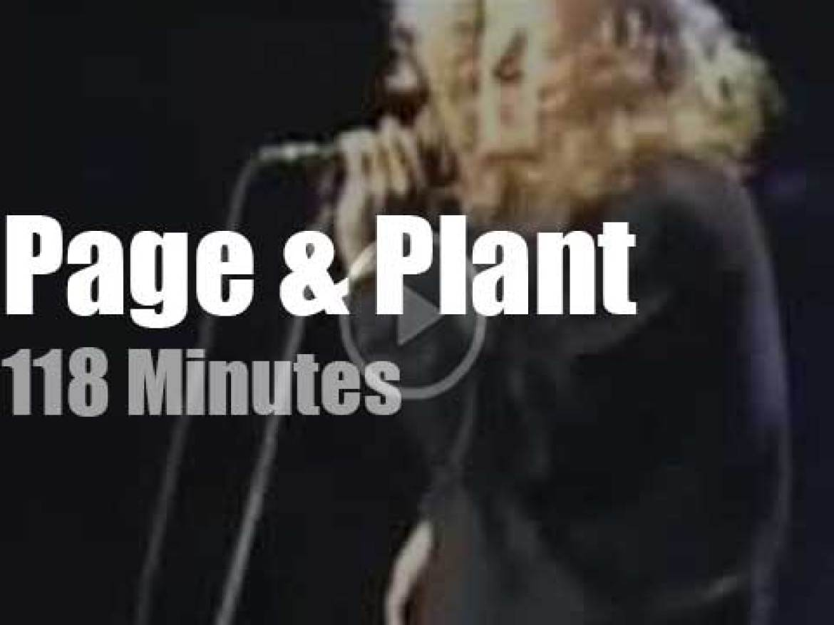 Page & Plant 'Walk Into' Vancouver (1998)
