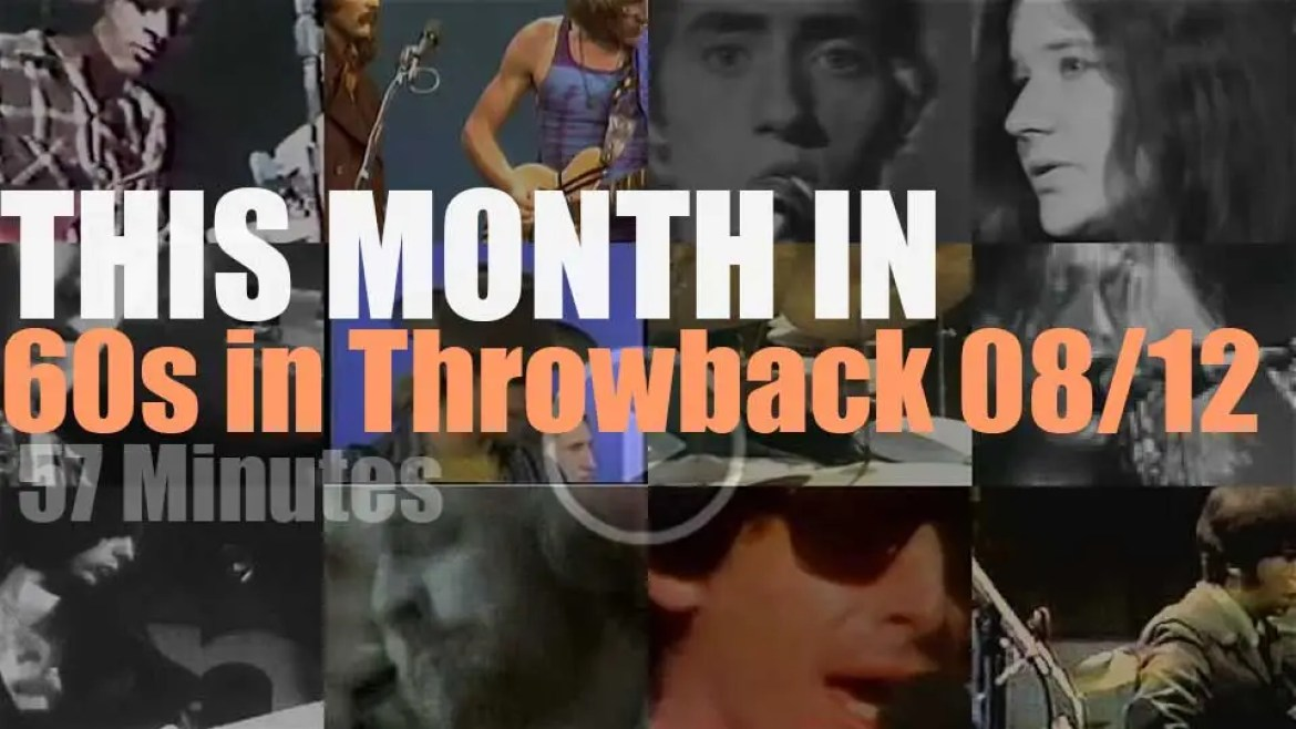 This month In  '60s Throwback' 08/12