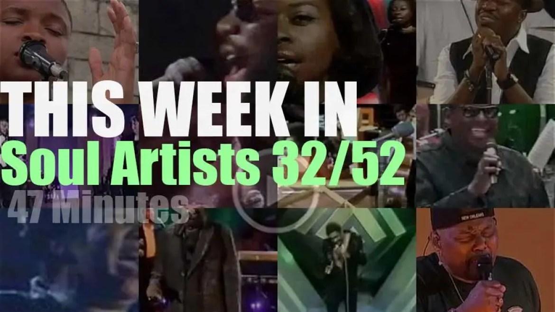 This week In Soul Artists 32/52