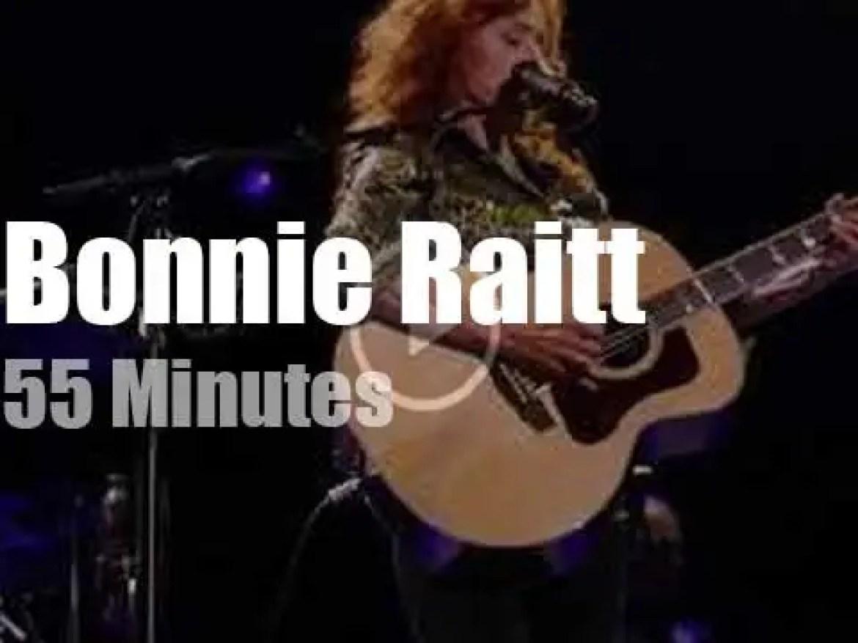 Bonnie Raitt opens  for Mark Knopfler (2019)