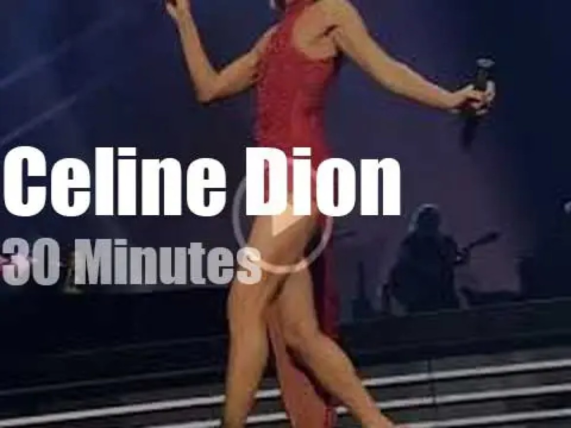 Céline Dion launches her new tour in Quebec (2019)