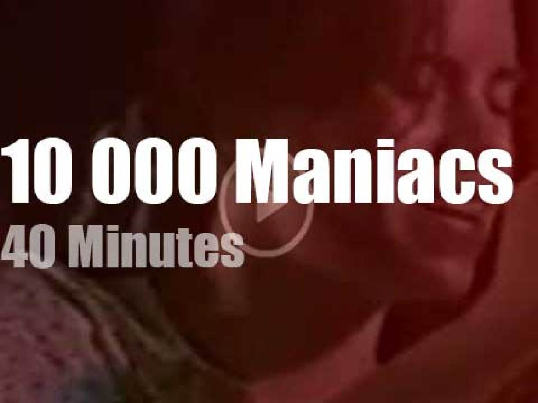 Italian TV tape 10,000 Maniacs (1987)