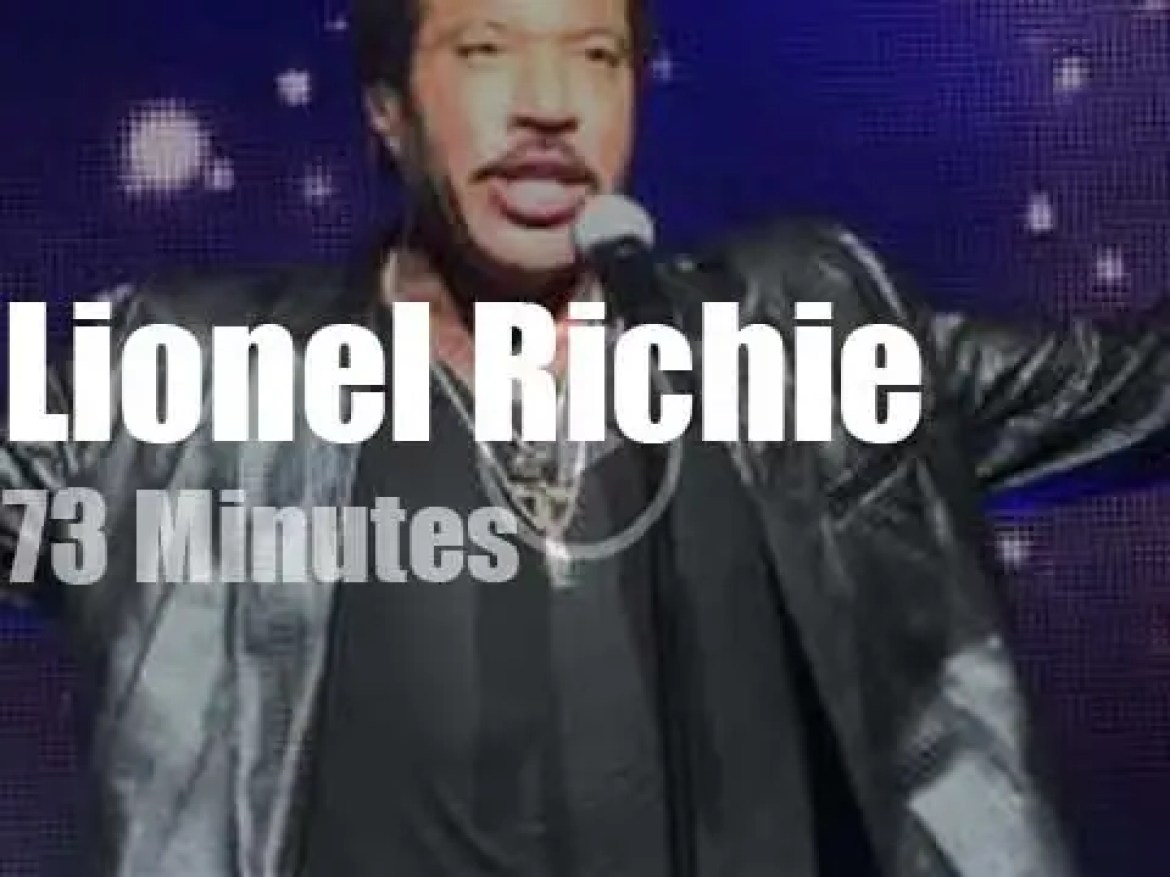 Lionel Richie delivers 'All the Hits All Night Long' (2013)