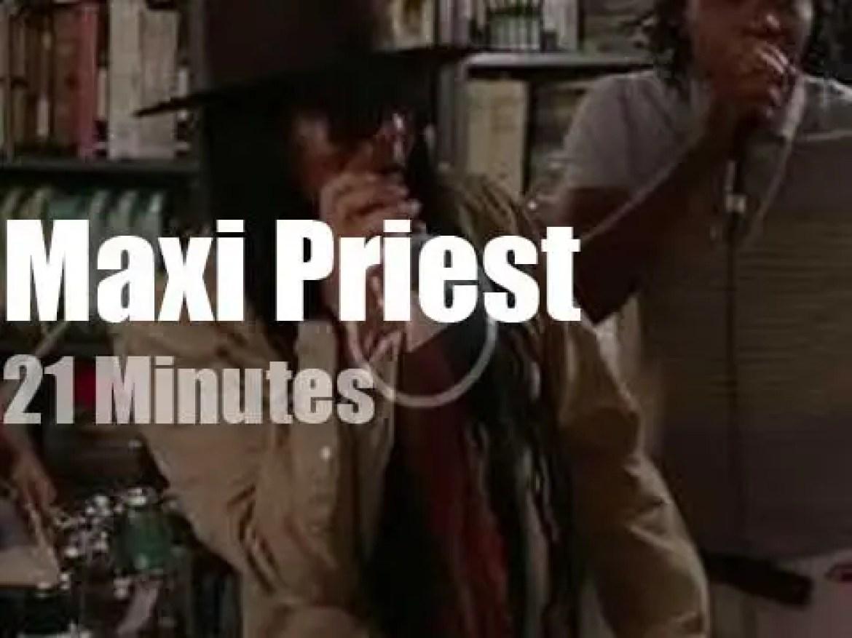 Maxi Priest rocks Paste (2019)