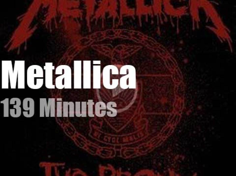 Metallica serenade the Bronx (2011)
