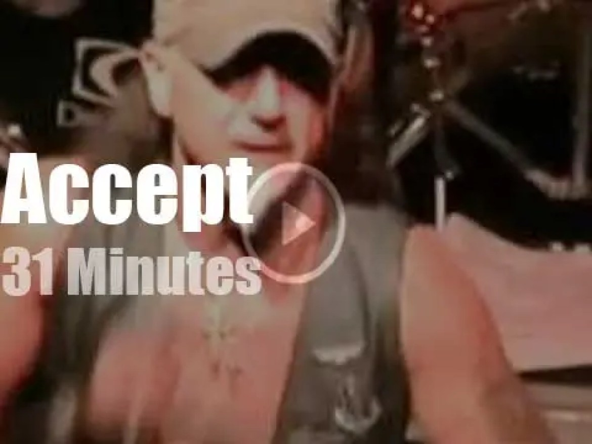 Accept spill the 'Blood Of The Nations' in Cleveland (2010)