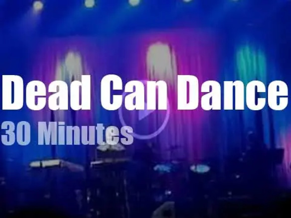 Dead Can Dance hypnotize Moscow (2012)