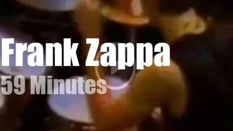 Frank Zappa visits New York City (1981)
