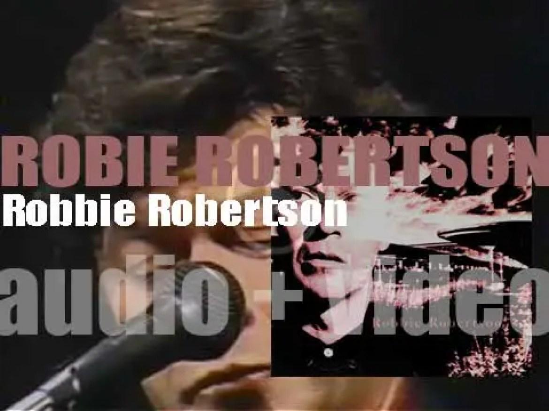 Geffen publish Robbie Robertson's eponymous solo debut album (1987)