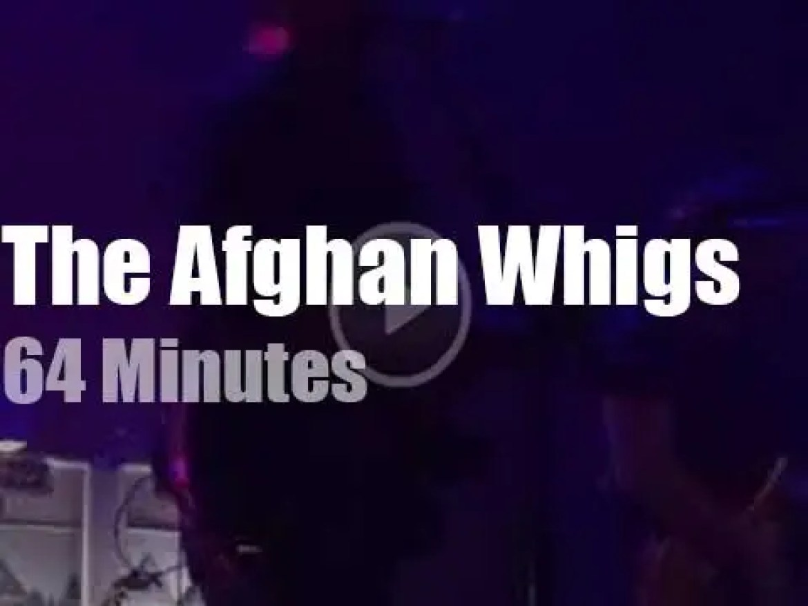The Afghan Whigs are in LA (2017)