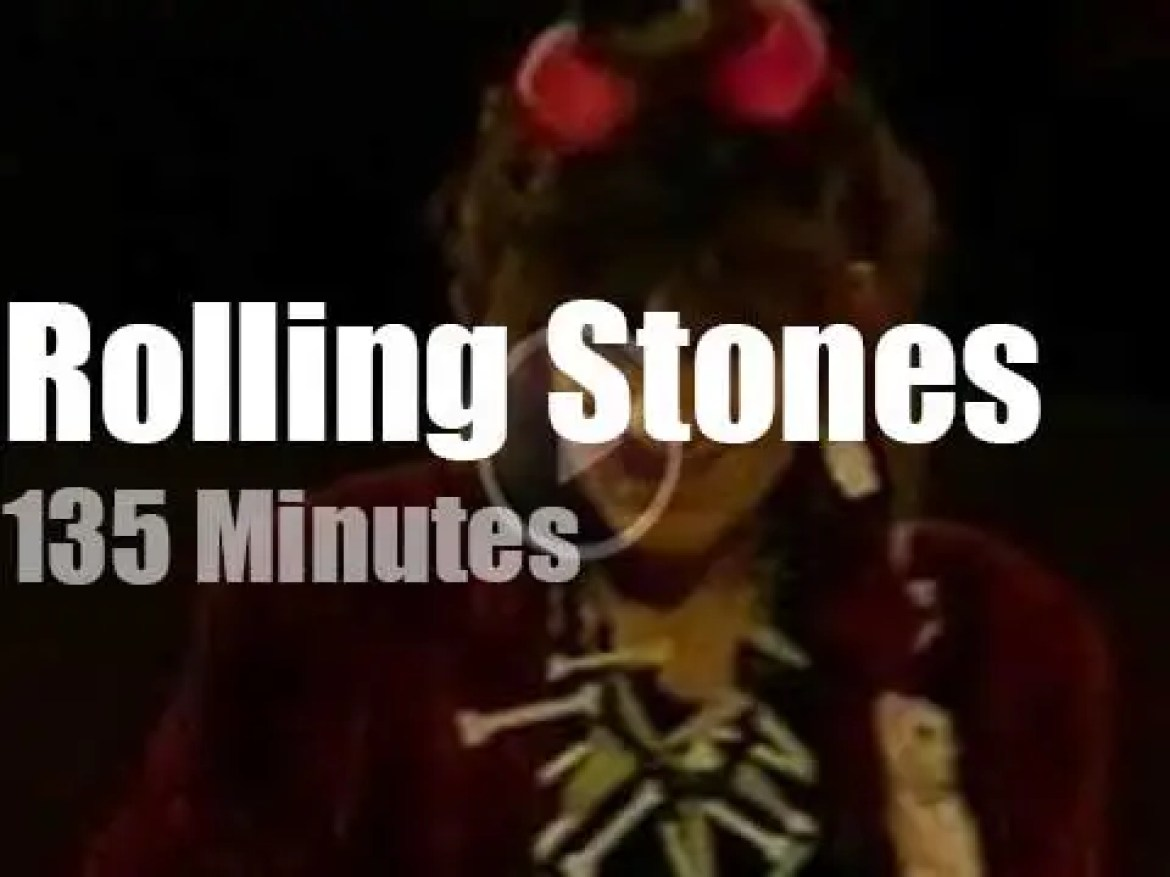 The Rolling Stones 'tattoo' Oakland (1994)