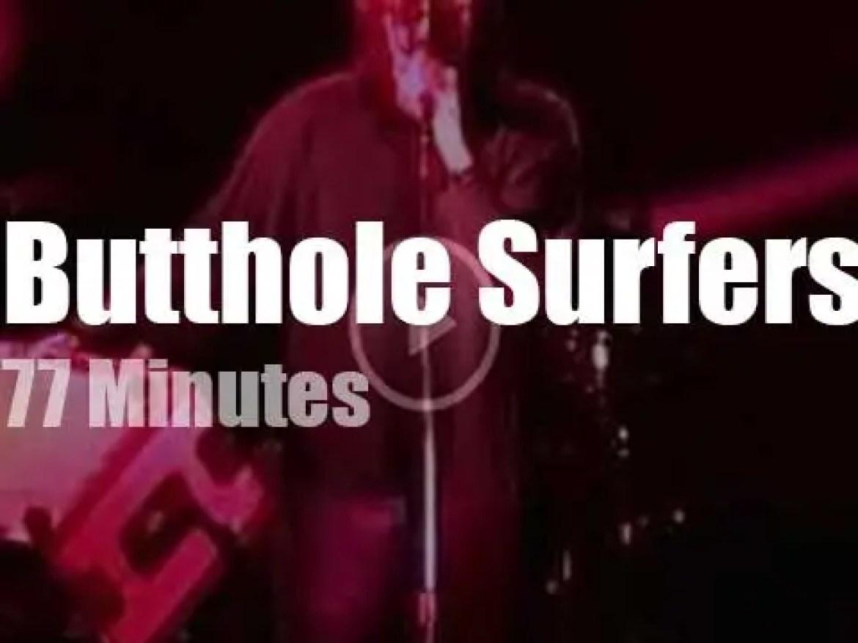 Butthole Surfers serenade Detroit (2001)