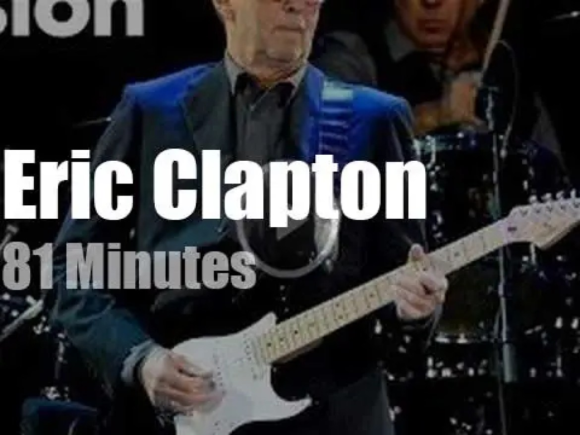 Eric Clapton holds a 'Baloise Session' (2013)