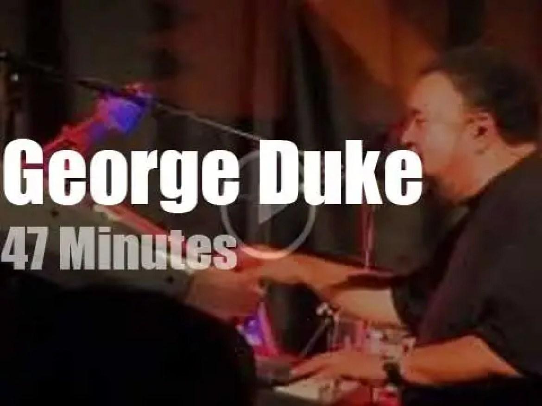 George Duke visits Paris (2011)