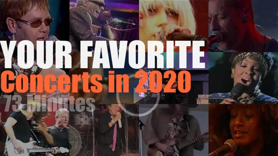 Your Favorite Concerts in 2020