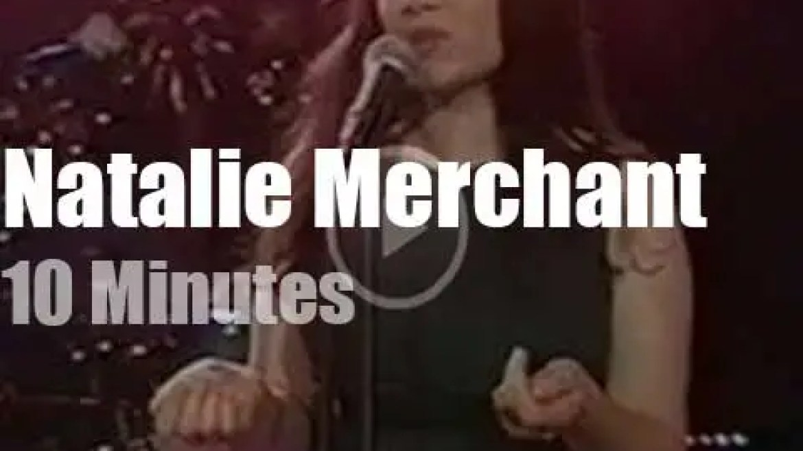 On TV today, Natalie Merchant with Rosie O'Donnell (1996)