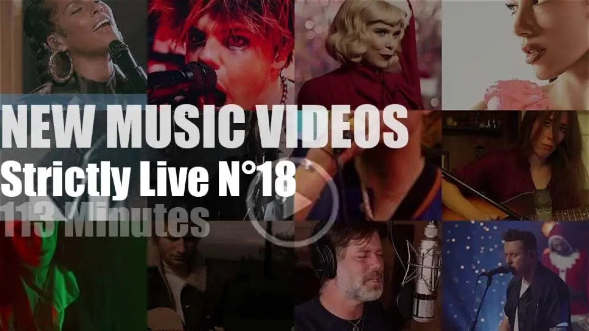 'Strictly Live'  New Music Videos N°18