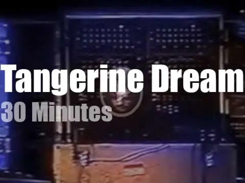 Tangerine Dream enchant Warsaw (1983)