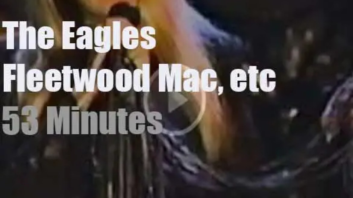 Eagles, Fleetwood Mac, etc. are 'Rock and Roll Hall of Fame inductees' (1998)