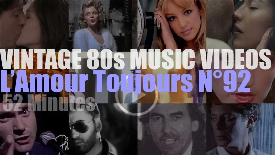 'L'Amour Toujours'  N°92 – Vintage 80s Music Videos