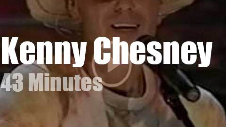 On TV today, Kenny Chesney 'Live in Nashville' (2005)