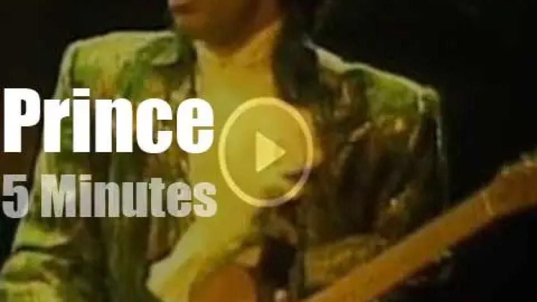 Prince rocks Houston (1985)
